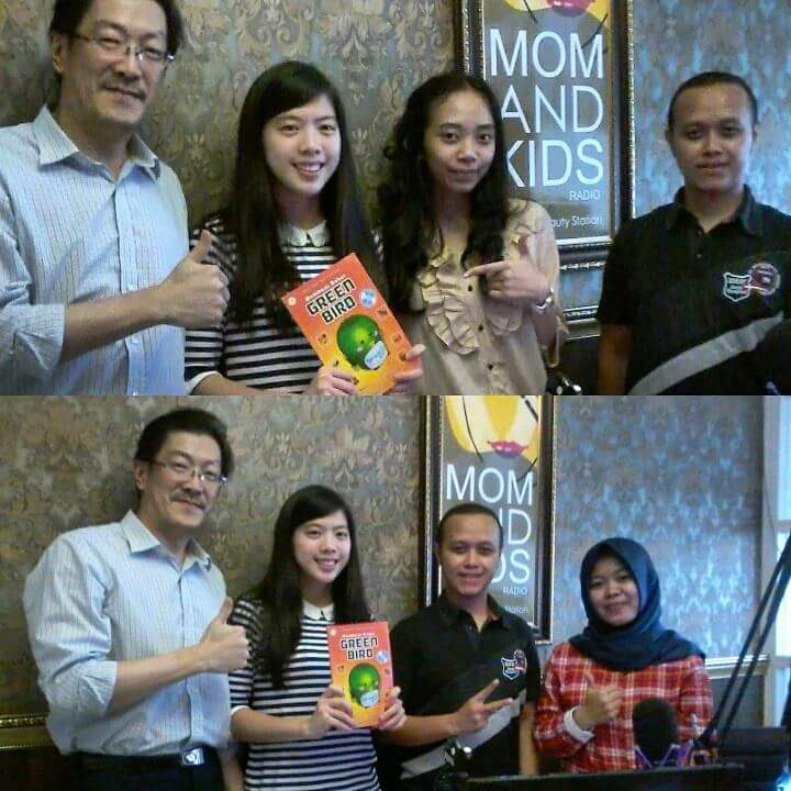 Talkshow di Mon and Kids Radio